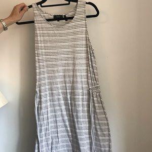 Theory Women's Safira Persina Fine Stripe Dress